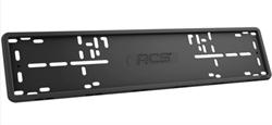 Силиконовая рамка номерного знака RCS V4.0 черная 1шт - фото 10062