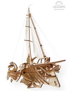 Сборная модель UGEARS Тримаран Мерихобус 70059 - фото 10500
