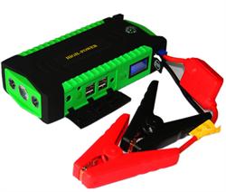 Портативное пусковое устройство для автомобиля High Power 20800 mAh зеленый - фото 10639