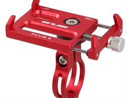 GUB Plus 8 держатель для телефона на велосипед красный - фото 11326