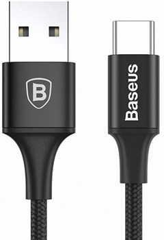 Кабель Baseus Rapid Series USB - Type-C CATSU-B01