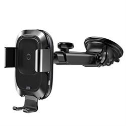 Автомобильный держатель для телефона с беспроводной быстрой зарядкой Baseus Smart Vehicle Bracket (WXZN-B01)