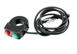 Консоль управления светом и звуковым сигналом на руль - фото 11616