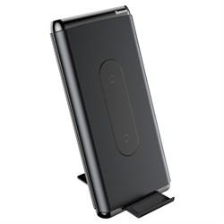 Внешний аккумулятор с беспроводной зарядкой Baseus Wireless Charger 10000mAh WXHSD-D01 - фото 11734