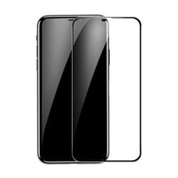 Защитное стекло для iPhone XS Max Baseus Rigid-edge curved-screen (SGAPIPH65-AJG01)