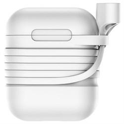 Чехол для Apple AirPods Baseus (TZARGS-G2) серый - фото 12261