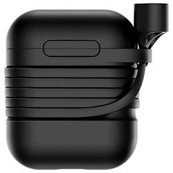 Чехол для Apple AirPods Baseus (TZARGS-01) черный - фото 12461