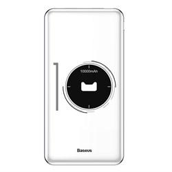 Внешний аккумулятор Baseus M21 Simbo Smart 10000mAh (PPALL-AQB02) белый - фото 12519