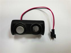 Корпус разъема зарядки с кнопкой для Inokim Mini2 - фото 12587
