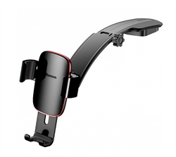Держатель Baseus Metal Age Gravity Car Mount (SUYL-F01) черный - фото 12601
