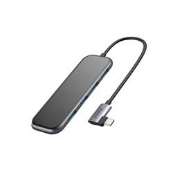 USB-концентратор Baseus Multi-functional HUB Type-C - 4xUSB+PD (CAHUB-EZ0G)