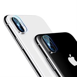 Защитное стекло для камеры IPhone X/XS/XS Max Baseus Camera Lens (SGAPIPHX-AJT02) - фото 12857