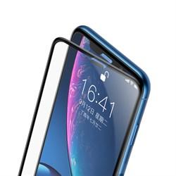 Защитное стекло для iPhone XR Baseus Cellular Dust Prevention 0.3 мм весь экран (SGAPIPH61-WA01) - фото 12924