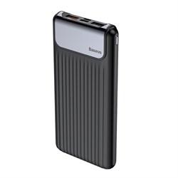 Внешний аккумулятор Baseus Thin Digital 10000 mAh Power Bank QC 3.0 (PPYZ-C01)