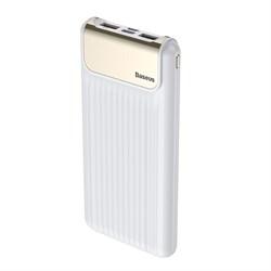 Внешний аккумулятор Baseus Thin Digital 10000 mAh Power Bank QC 3.0 (PPYZ-C02)