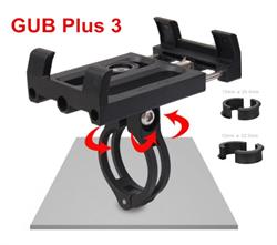 Держатель для телефона/ смартфона на велосипед GUB Plus 3 - фото 13350