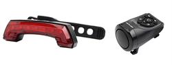 Задний велофонарь с поворотниками и электрический клаксон GUB G-68 - фото 13485