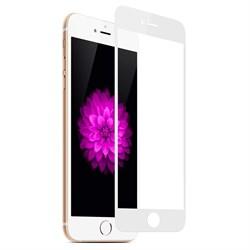 Защитное стекло Full Screen для APPLE iPhone 6/6S белый техпак - фото 13891