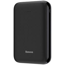 Внешний аккумулятор Baseus Mini JA Powerbank 10000mAh черный (PPJAN-A01) - фото 14338