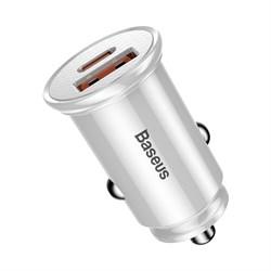 Автомобильное зарядное устройство Baseus PD3.0+QC4.0+USB+USB Type-C Baseus 30W (CCALL-YS02) - фото 14448