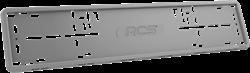 Силиконовая рамка номерного знака RCS V4.0 серая 1шт - фото 14472