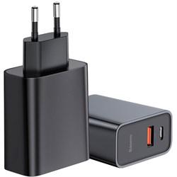 Сетевое зарядное устройство Baseus Speed PPS Quick Charger Type-C черный (CCFS-C01) - фото 14729