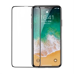Защитное стекло для iPhone X/XS Baseus Full Coverage Curved Tempered Glass Protector (SGAPIPHX-KC01) - фото 14846