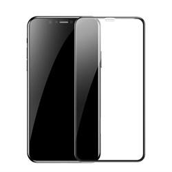 Защитное стекло для iPhone XR Baseus Full Coverage Curved Tempered Glass Protector (SGAPIPH61-KC01) - фото 14901