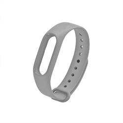 Ремешок для Xiaomi Mi Band 3/4 серый - фото 15869