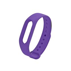 Ремешок для Xiaomi Mi Band 3/4 фиолетовый - фото 15877