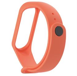 Ремешок для Xiaomi Mi Band 2 оранжевый - фото 15879