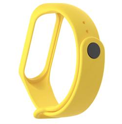 Ремешок для Xiaomi Mi Band 2 желтый - фото 15906
