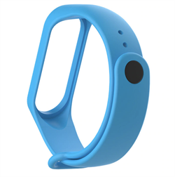 Ремешок для Xiaomi Mi Band 2 голубой - фото 15913