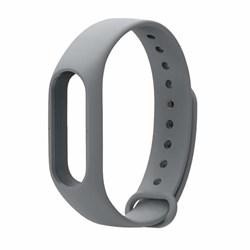 Ремешок для Xiaomi Mi Band 2 серый - фото 15928