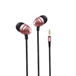 Наушники проводные Awei ES-Q2 черный/розовый - фото 15964