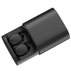 Наушники беспроводные QCY T1 Pro черный - фото 15973