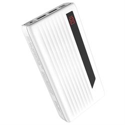 Внешний аккумулятор Hoco J27A Wide energy 20000 mAh белый - фото 15992