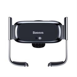 Автомобильный держатель Baseus Mini Electric черный (SUHW01-01) - фото 16302