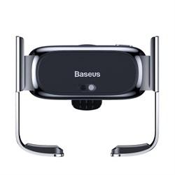 Автомобильный держатель Baseus Mini Electric серебристый (SUHW01-0S) - фото 16314