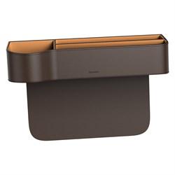 Автомобильный органайзер Baseus Elegant Car Storage Box (CRCWH-08) коричневый - фото 16450