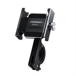 Держатель для телефона/ смартфона на велосипед Baseus Knight Motorcycle Holder (CRJBZ-01) черный - фото 16456