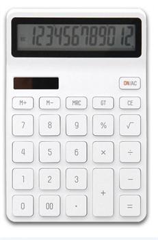 Калькулятор Xiaomi Kaco Lemo Desk Electronic Calculator (K1412) белый - фото 16695
