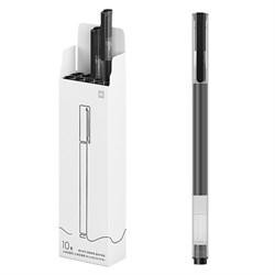 Набор гелевых ручек Xiaomi Mi Jumbo Gel Pen 10 шт. черный (MJZXB02WC) - фото 16877