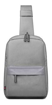 Сумка через плечо WiWU Vigor shoulder bag серая - фото 17322