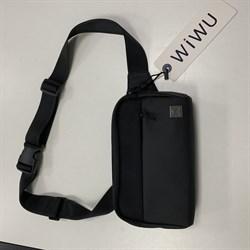Поясная сумка WiWU Metro Mate Fanny Pack черная - фото 17328