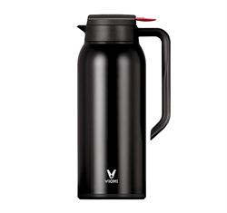 Термос Xiaomi Viomi Steel Vacuum Pot 1.5L черный - фото 17388