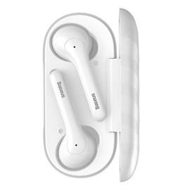 Беспроводные наушники Baseus Encok True Wireless Earphones W07, белые - фото 17694