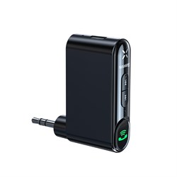 Беспроводной адаптер Baseus Qiyin AUX Car Bluetooth Receiver (WXQY-01) - фото 17896