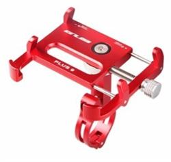 Держатель для телефона/ смартфона на велосипед GUB Plus 9 красный - фото 18220