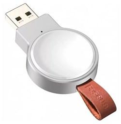 Беспроводное зарядное устройство для Apple Watch Baseus Dotter Wireless Charger for iWatch (WXYDIW02-02) белый - фото 18309